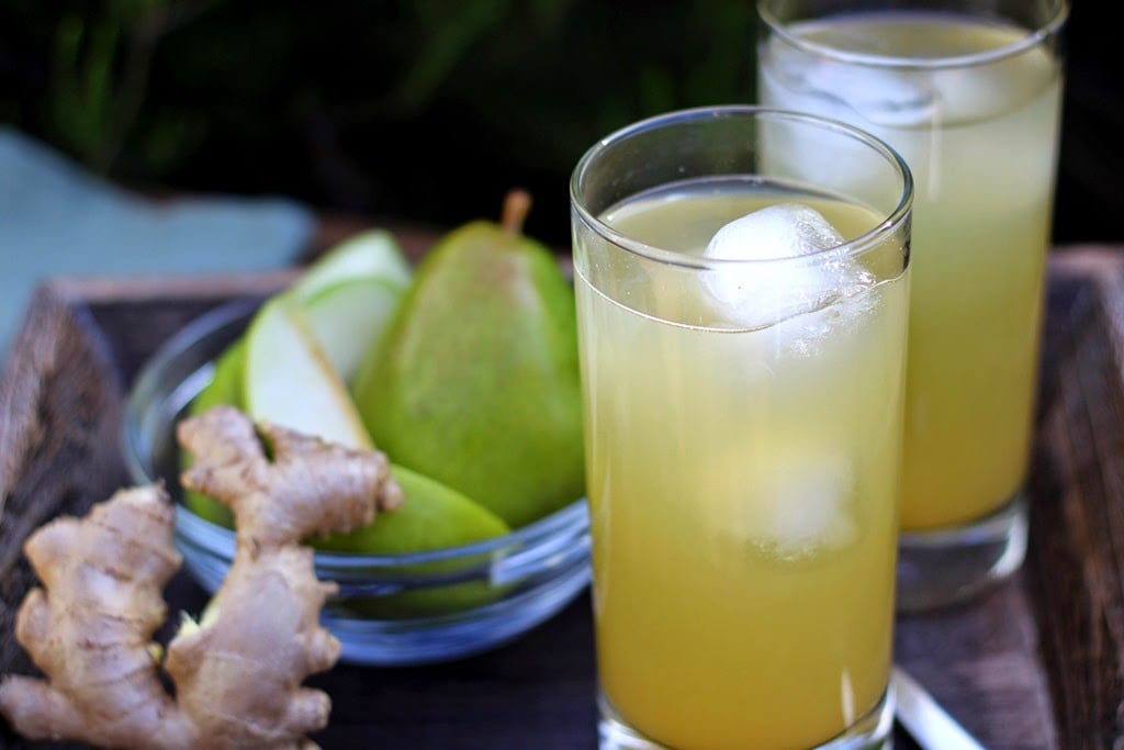 Ginger Pear Drink – Amazing Cleaner That Flush Out Toxins