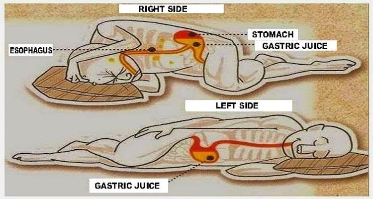 Sleep on The Left Side is Good For Health