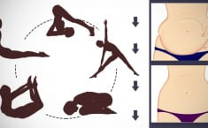 Reduce Stubborn Belly Fat & Flatten Your Belly With These 5 Yoga Poses!