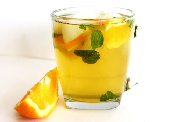 Green Tea With Orange For Instant Slimming
