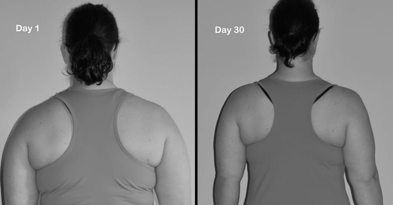Target Back Bulge and Underarm Flab with 4 Quick Exercises