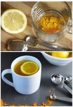 Warm Lemon Water & Turmeric – Powerful Healing Drink And Perfect Morning Elixir