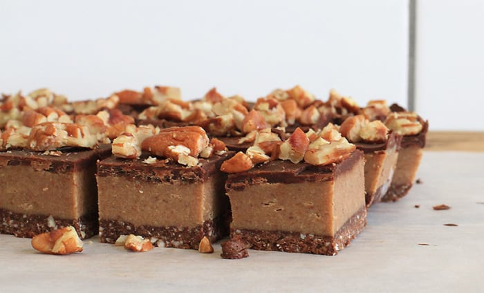 Raw Pecan Caramel Slice (Recipe)