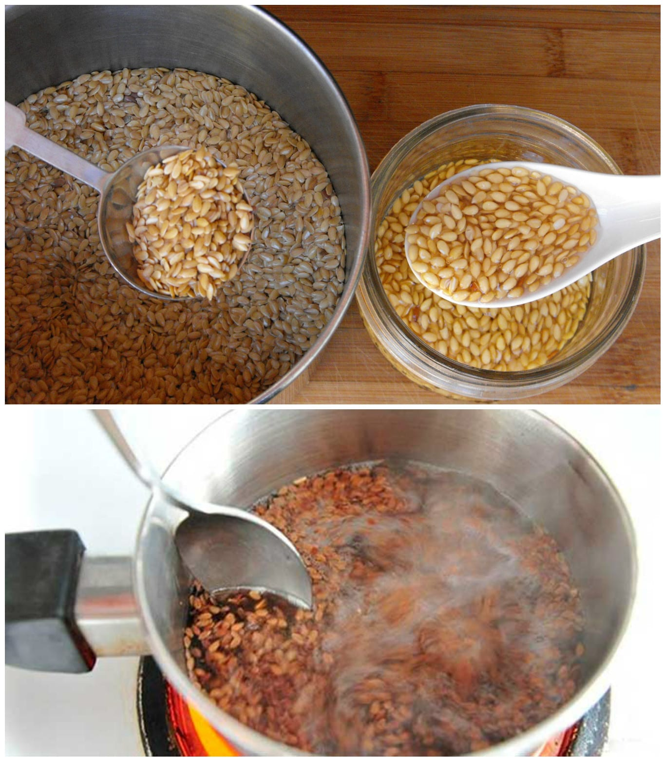 Flaxseed Healing Potion: Discards Toxins, Helps Ulcers And