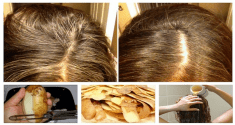 This Simple But Extremely Efficient Potato Rinse Can Save You Tons of Money on Hair Dye. Recipe  ...