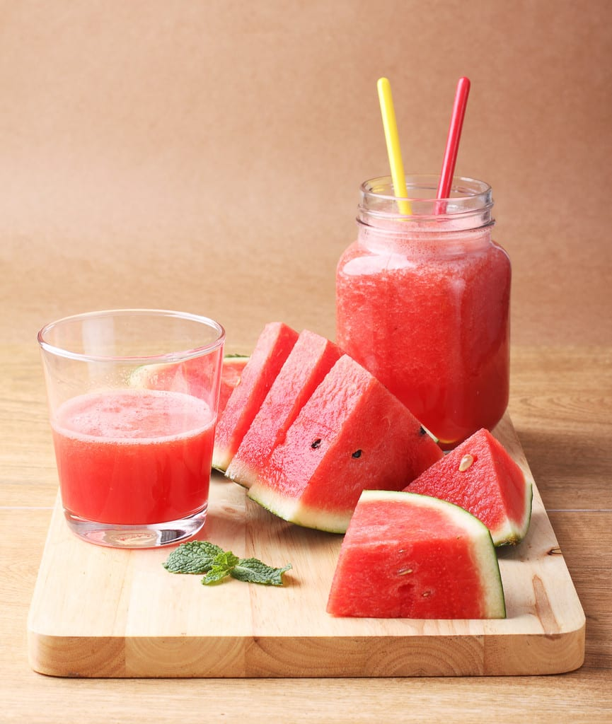 Watermelon Detox Smoothie For Cleansing Your Body, Boosting Your Immune System And Improving Your Well-being