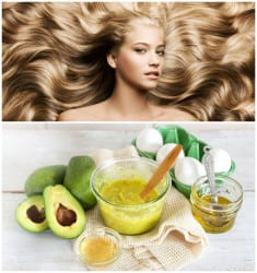Avocado Hair Mask – Natural Solution Without Preservatives