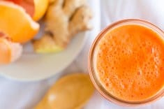 Fresh Immunity Boosting Juice to Reduce High Blood Pressure