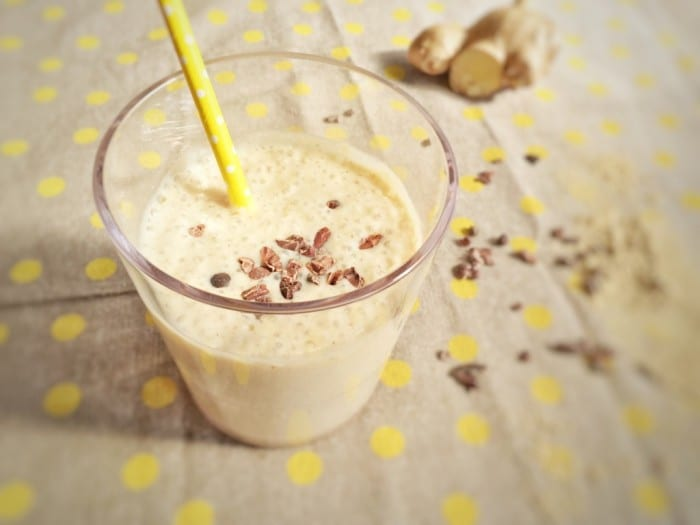 Ginger Spice Smoothie To Help Your Weight Loss