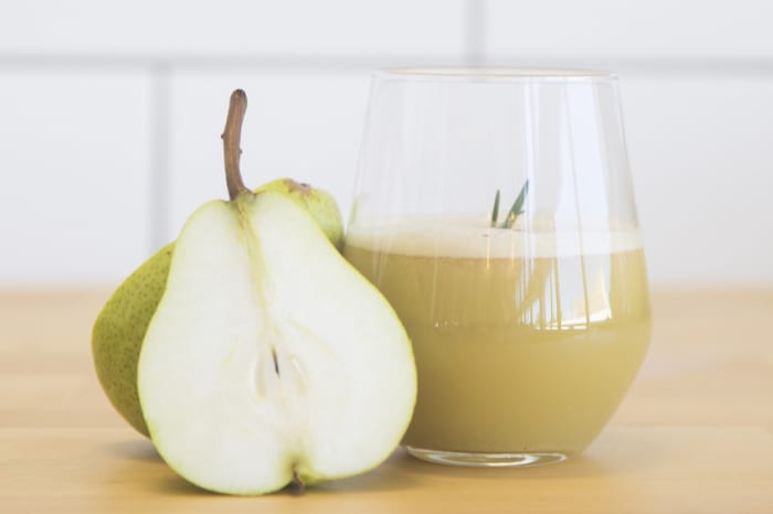 Apple, Pear & Rosemary Juice