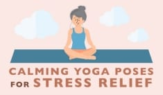 13 Easy Yoga Poses To FLUSH Stress Hormones From Your Body