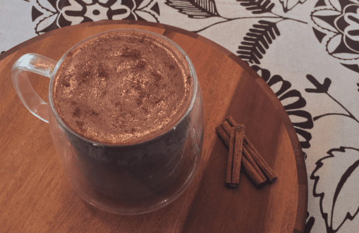 Cinnamon & Clove Hot Chocolate