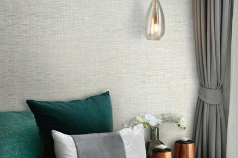 Linen wallpaper of good quality
