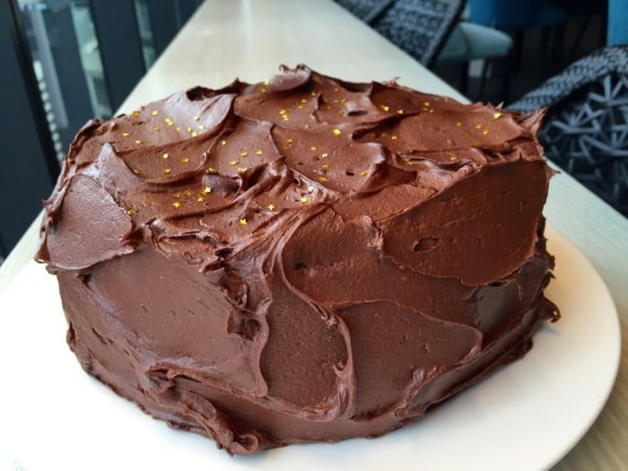 Double Chocolate Coconut Cake: refined sugar and dairy free, raw and no baking required