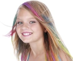 The Real Effects Of Coloring Your Child's Hair