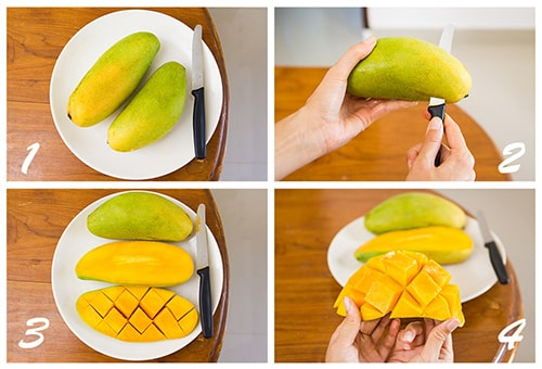 How to clean mango fruit