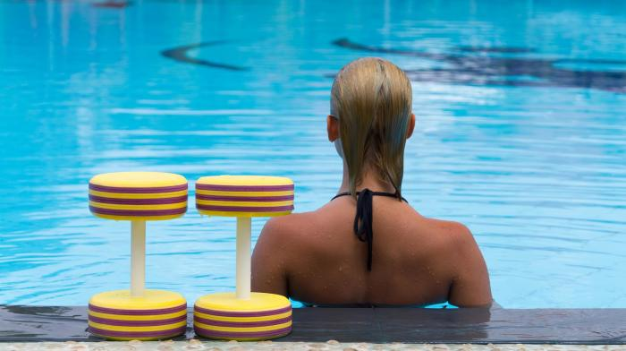 Why You Should Move Your HIIT Workout to the Pool