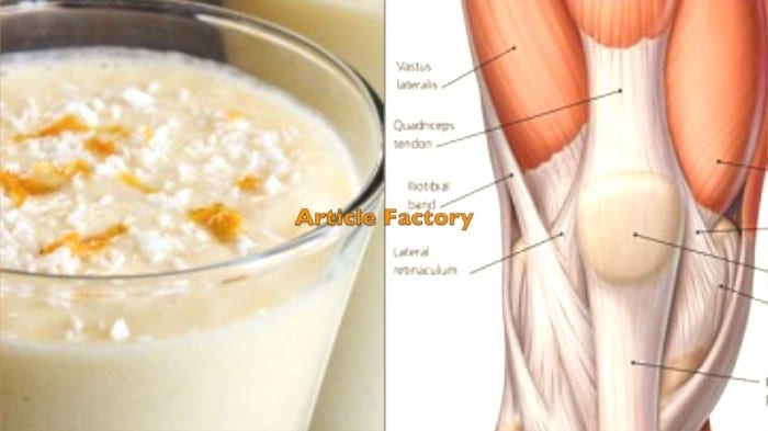 Strengthen Your Knee Tendons and Ligaments with THIS Simple 3-Ingredient Recipe