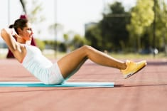 4 Super Effective Stomach Toning Exercises