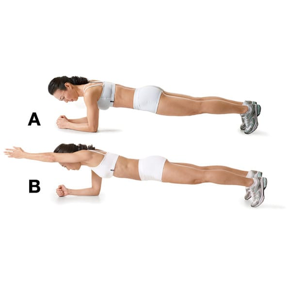 Advanced-Workout-Plank-with-Arm-Lift