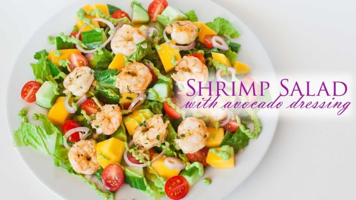 Shrimp-Tomato-Avocado Salad