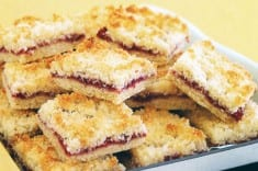 Healthy Raspberry Coconut Cookies Recipe