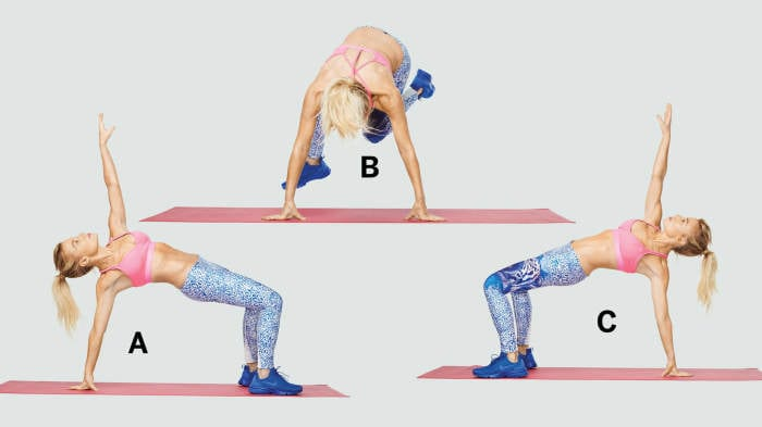 These Are Tracy Anderson's All-Time Best Ab-Sculpting Moves