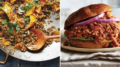 Freekeh-Turkey Sloppy Joes