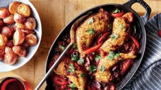 This Hearty Braised Chicken Dinner Is the Perfect Meal for Cold Winter Nights