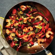 For Dinner Tonight, Try Shrimp-Vegetable Stir-Fry With Sesame-Ginger Sauce