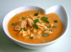 Low Carb Buffalo Chicken Soup Recipe