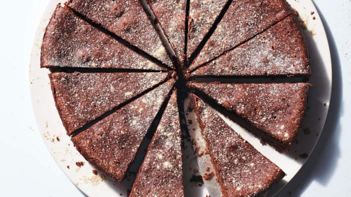 Decadent Maca Chocolate Cake