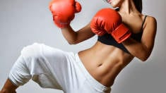 The Kickboxing Workout That's All About Abs