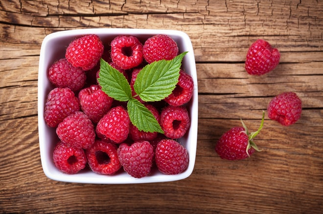 Raspberries are a popular berry with a rich color and sweet juicy taste