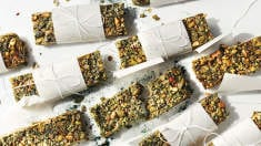 Spirulina Sunflower Bars