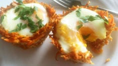 These Adorable Sweet Potato 'Nests' are Perfect for Brunch