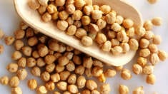 Chickpeas aid weight loss and provide strong bones
