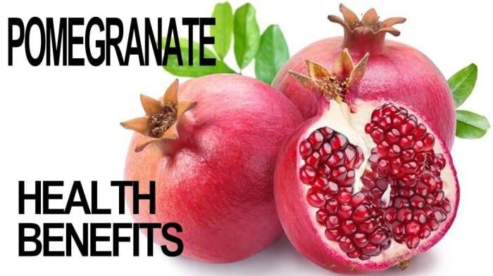 Health benefits of pomegranates