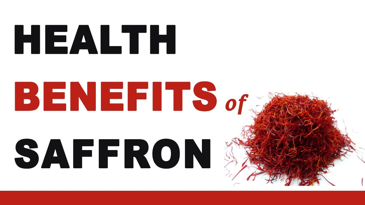 Useful properties of saffron
