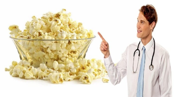 Popcorn – suprising health benefits