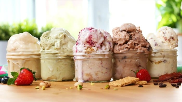 Easy Mason Jar Ice Cream – Recipe