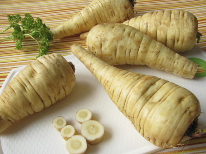 Health benefits of parsnip