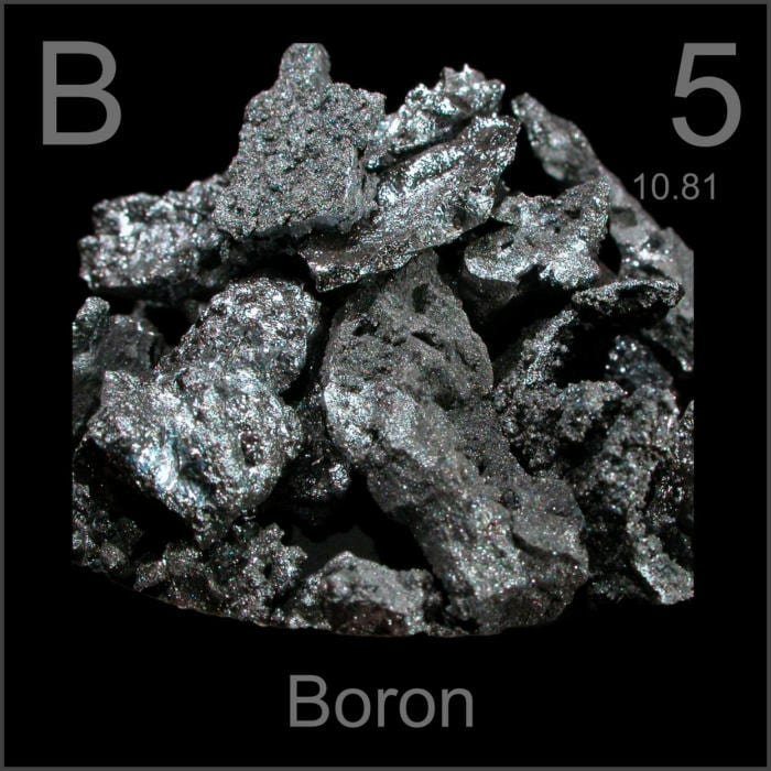 Health benefits of boron