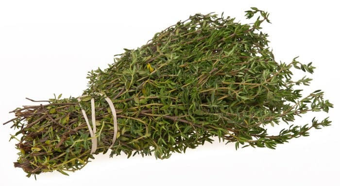 Thyme improves your eye sight and prevents colon cancer